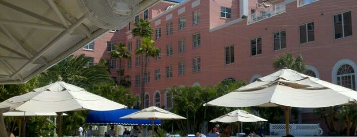 The Don CeSar is one of St Pete Beaches Feed Your Face Guide.