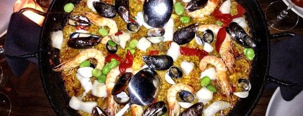 Socarrat Paella Bar - Nolita is one of Tempat yang Disimpan Leigh.