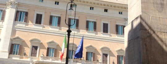 Palazzo Montecitorio is one of Roma.