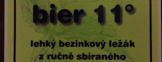 Jihoměstský pivovar is one of Пражские пивные - рекомендации от DailyBeer.eu.