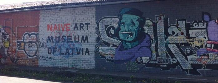 Latvijas Naivās Mākslas Muzejs is one of Laikam būs jāaiziet.