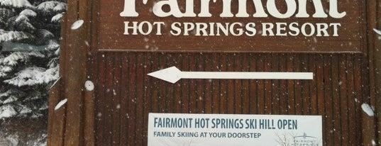 Fairmont Hot Springs Resort is one of BC Ski Resorts.