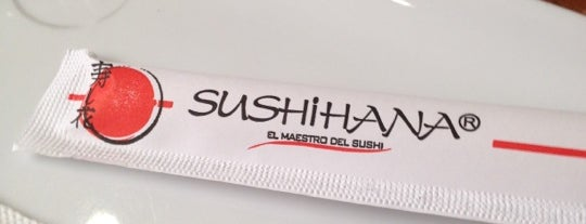 Sushihana is one of Pubs, Bares y Restaurantes.