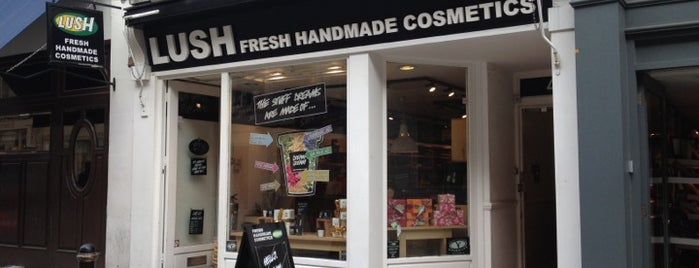 Lush is one of London.
