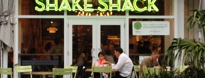 Shake Shack is one of Miami Restaurants.