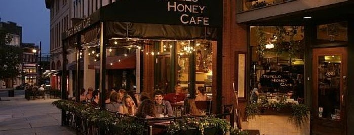 Tupelo Honey is one of Asheville.