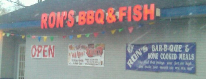 Ron's BBQ & Fish is one of 500 Things to Eat & Where - South.
