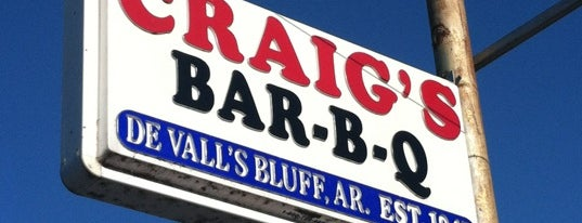 Craig's BBQ & Amazing Pies is one of BBQ.