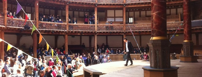 Shakespeare's Globe Theatre is one of Tired of London, Tired of Life (Jul-Dec).