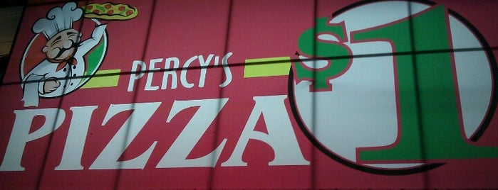 Percy's Pizza is one of Lieux qui ont plu à Jason.