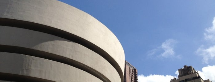 Solomon R Guggenheim Museum is one of NYC greatest venues.