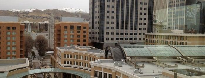 Salt Lake Marriott Downtown at City Creek is one of Utah.