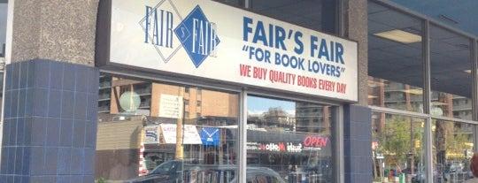 Fair's Fair Books is one of Calgary, Canada.