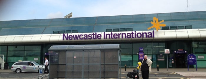 Newcastle International Airport is one of Flying.