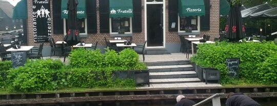 Ristorante Fratelli is one of Giethoorn.
