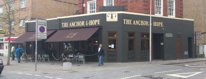 The Anchor & Hope is one of Еда лондон.