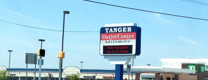 Tanger Outlet Center | Midway is one of Tempat yang Disukai 🅱🅰🅱.