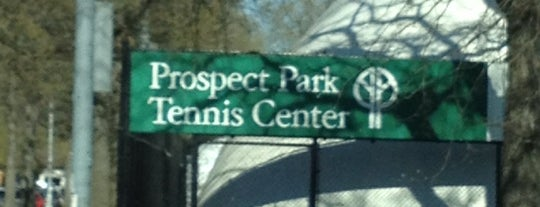Prospect Park Tennis Center is one of Orte, die Jon gefallen.