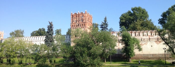 Novodevichy Park is one of Walking.