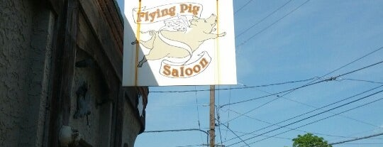The Flying Pig Saloon is one of Mike'nin Beğendiği Mekanlar.