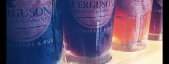 Ferguson Brewing Company is one of Tempat yang Disukai Jonathan.