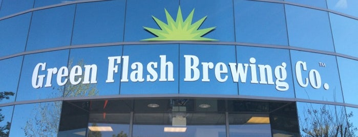 Green Flash Brewing Company is one of Best US Breweries--Brewery Bucket List.