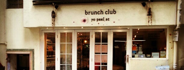 Brunch Club is one of HK.
