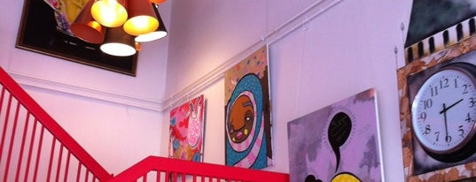 Café Ulla Terkelsen London is one of René: сохраненные места.