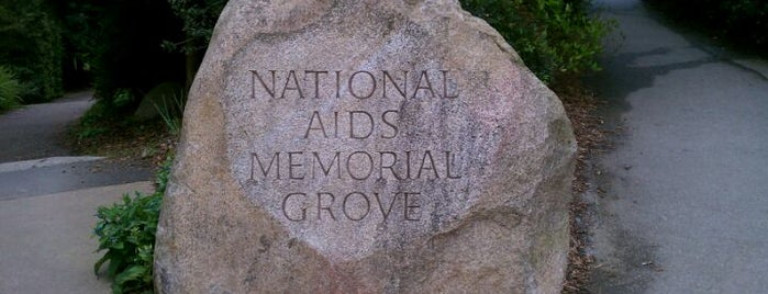 The National AIDS Memorial Grove is one of SanFran.