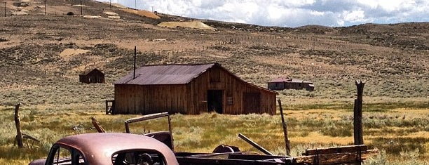 Bodie State Historic Park is one of CBS Sunday Morning.