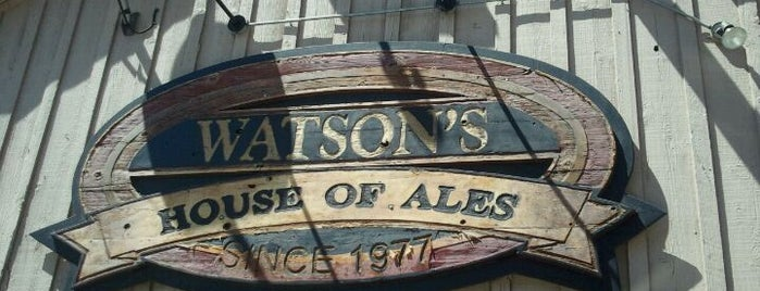 Watson's House of Ale's is one of BEST BARS - SOUTHWEST USA.