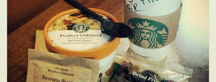 Starbucks is one of Jessica 님이 좋아한 장소.