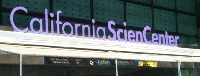 California Science Center is one of SoCal Musts.