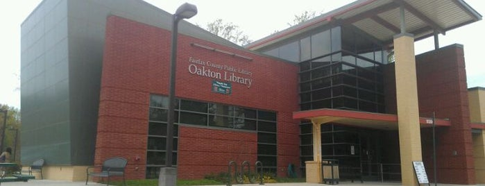 Oakton Library is one of Services.
