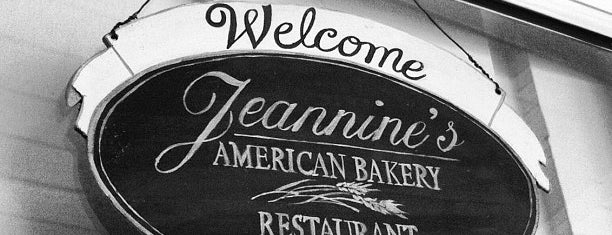 Jeannine's American Bakery & Restaurant is one of Restaurants.