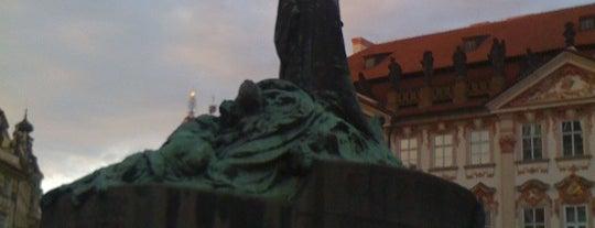 Pomník mistra Jana Husa is one of StorefrontSticker #4sqCities: Prague.