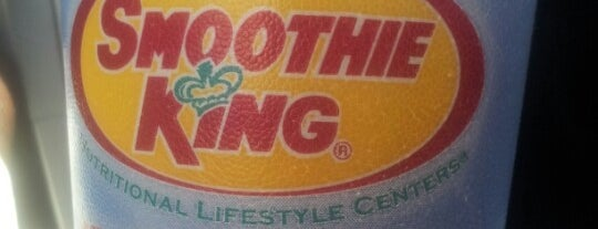 Smoothie King is one of Lugares favoritos de Schaccoa.