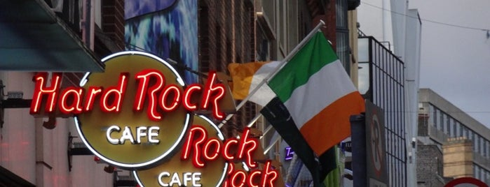 Hard Rock Cafe Dublin is one of Selin Gamze Sıla.