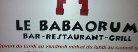 Babaorum is one of Martinique.