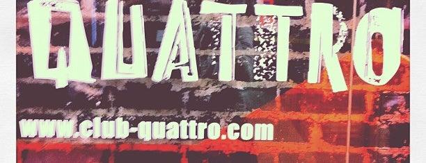 渋谷CLUB QUATTRO is one of ライヴハウス.