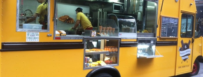 Wafels & Dinges - Herald Square is one of NYC Food on Wheels.