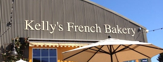 Kelly's French Bakery is one of Tom's Liked Places.