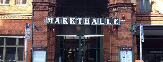 Arminius-Markthalle is one of Locais salvos de Katja.
