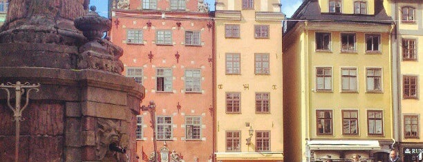 Stortorget is one of Stockholm City Guide.