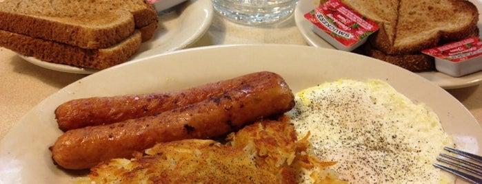 J's Breakfast & Burgers is one of Orte, die Sirus gefallen.