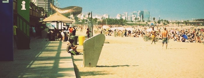 Praia da Barceloneta is one of 2013 - Espanha.