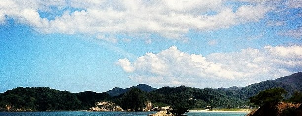浦富海岸 is one of 日本の白砂青松100選.