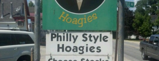 Pear's Ice Cream and Hoagie Shop is one of Maine.