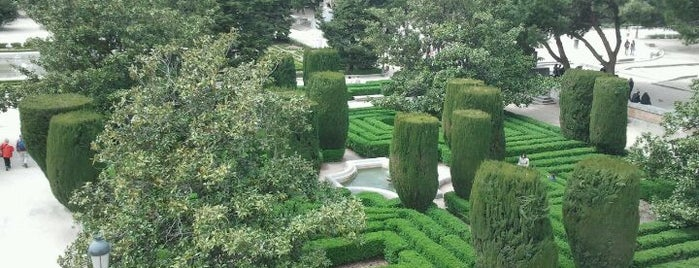 Jardines de Sabatini is one of The Best Of Madrid.