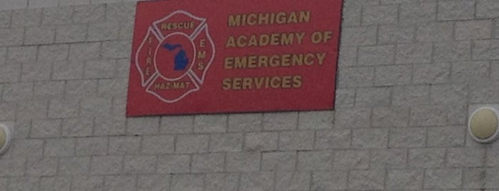Michigan Academy Of Emergency Services And Allied Health is one of Tempat yang Disukai Andrew.